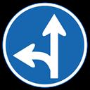 指定方向外進行禁止の標識